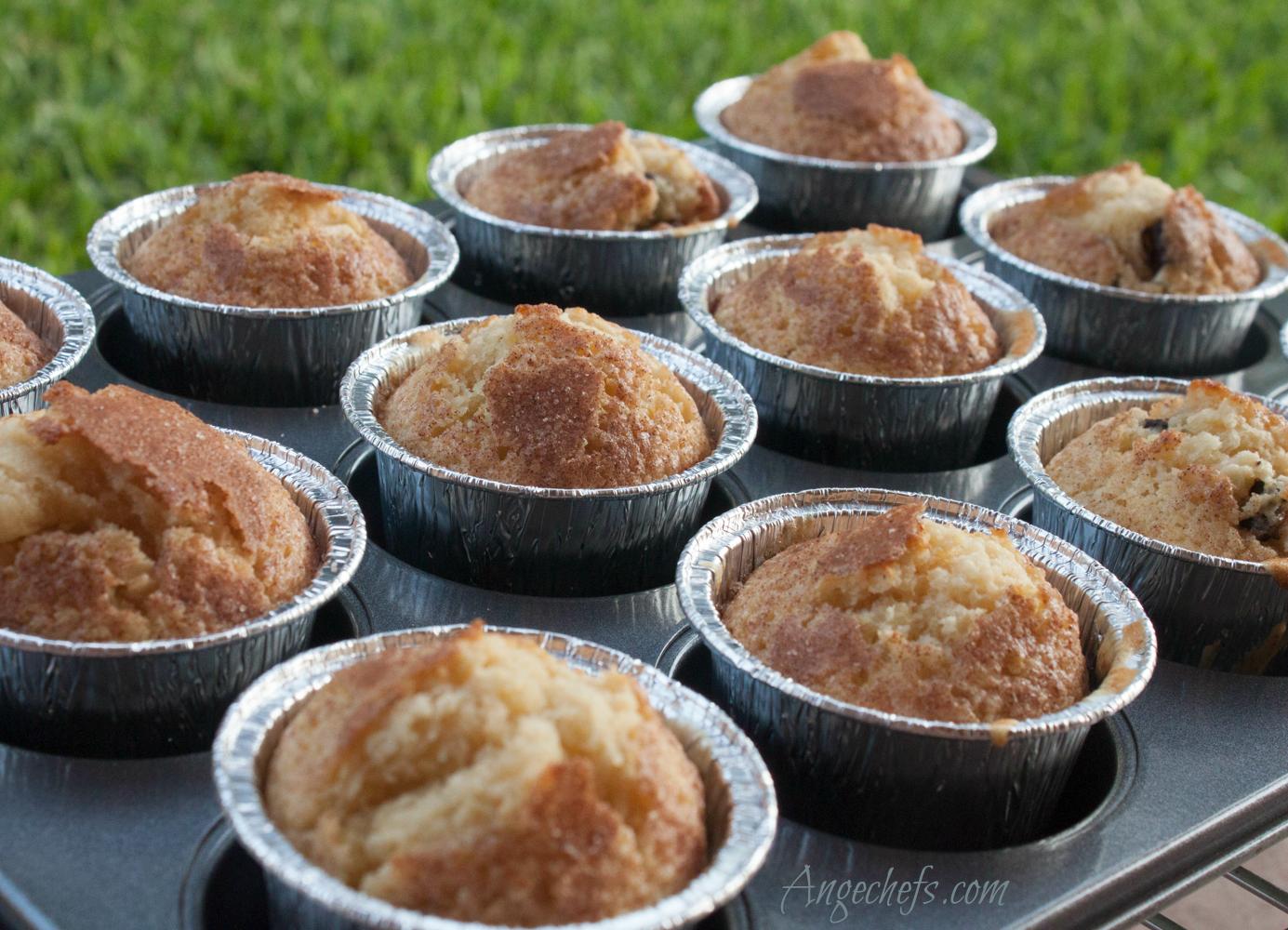 Muffins con Chocolate y Canela!-4 angechefs.com(MA)