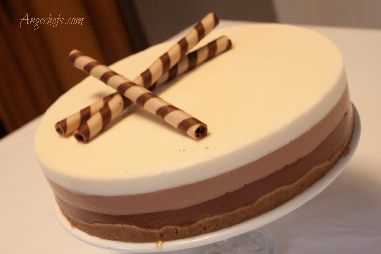 Tarta de Tres Chocolates!-2 angechefs.com 2