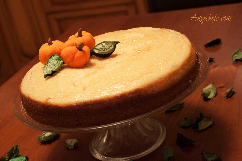 Tarta de Calabaza con Crema de Queso!-2 angechefs.com 3