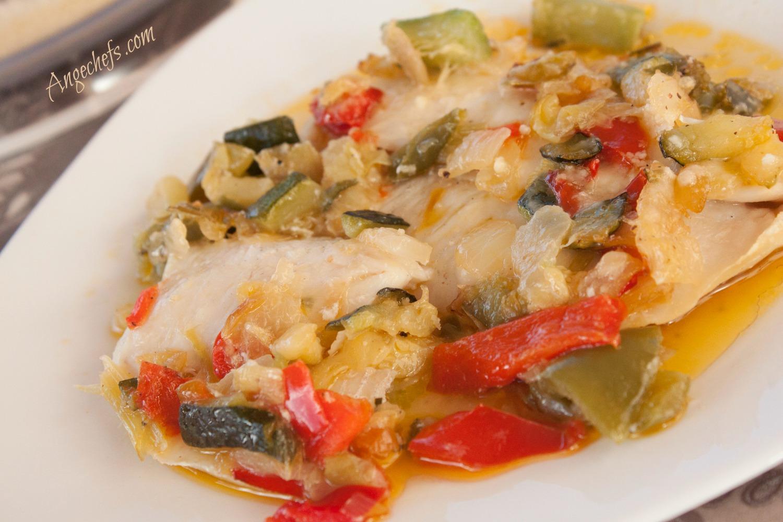 Merluza al horno con Verduras!-2 angechefs.com-2