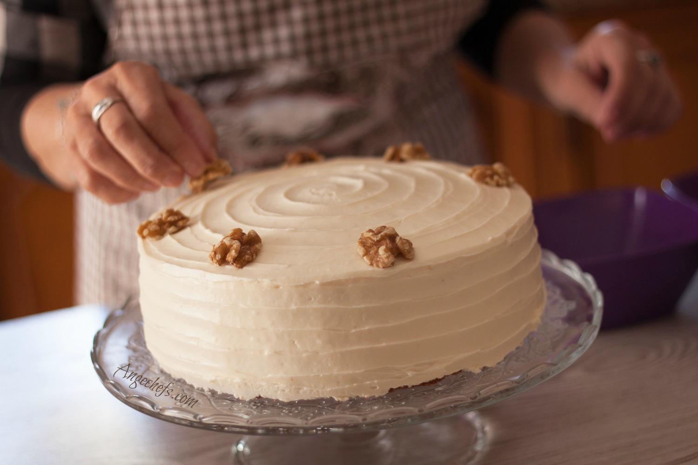 Tarta de Zanahoria-Carrot Cake! angechefs.com