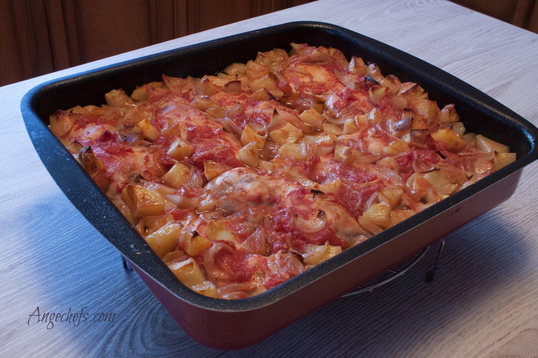 Pollo al Horno con patatas!-2 angechefs.com-2