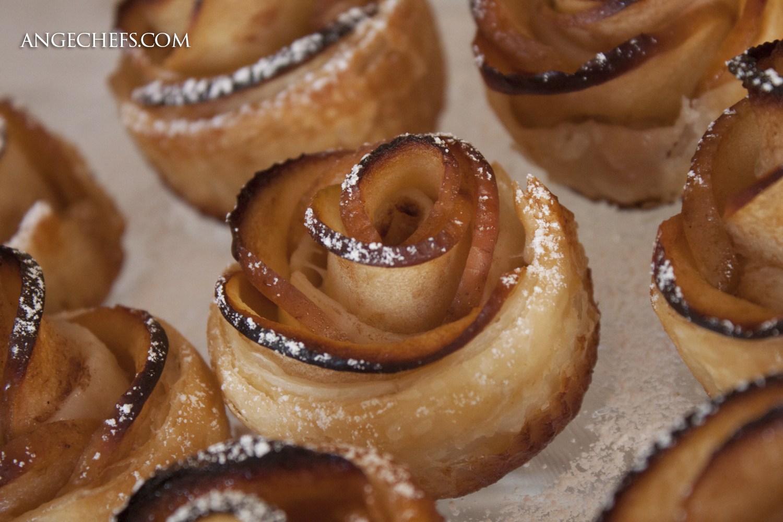 Rosas de Manzana y Hojaldre!-2 angechefs.com
