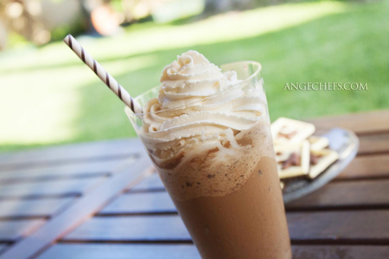 Frappucino de Mocha y Chocolate!-2 angechefs.com