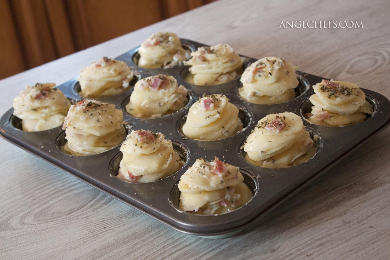Patatas con Queso y Bacon al horno!-1 angechefs.com
