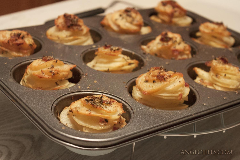 Patatas con Queso y Bacon al horno!-3 angechefs.com