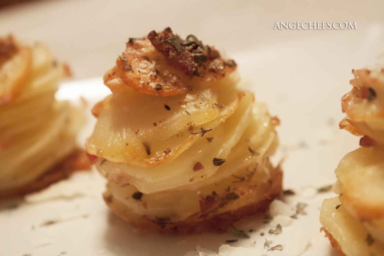 Patatas con Queso y Bacon al horno!-4 angechefs.com